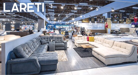Мягка мебель для вашего дома от фабрики Lareti.ru