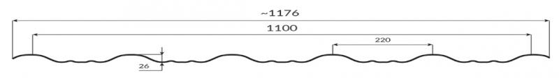 Țiglă metalică modulară Enigma